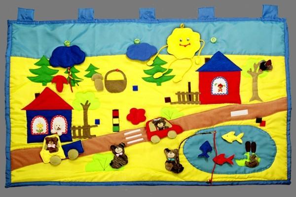 Сенсорные коврики для детей своими руками в детский